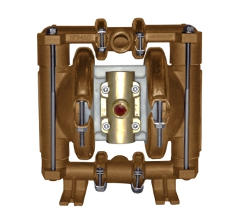 NTG15 (13 mm) Metallic Rubber/TPE-Fitted Air Operated Double Diaphragm Pump