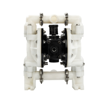 NDF25 (25 mm) Non-Metallic PTFE-Fitted Air Operated Double Diaphragm Pump
