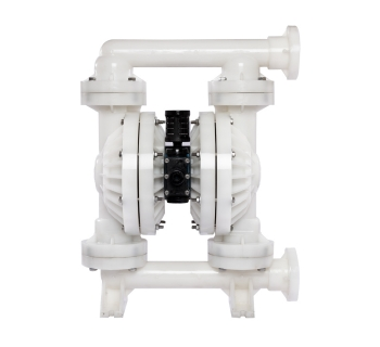 NDF40 (38 mm) Non-Metallic PTFE-Fitted Air Operated Double Diaphragm Pump