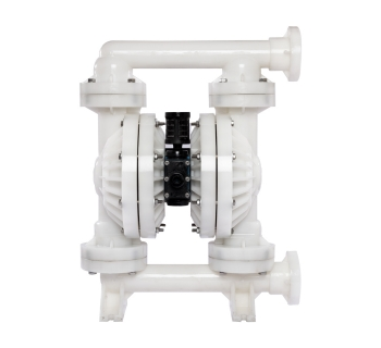 NDF50  (51 mm) Non-Metallic PTFE-Fitted Air Operated Double Diaphragm Pump