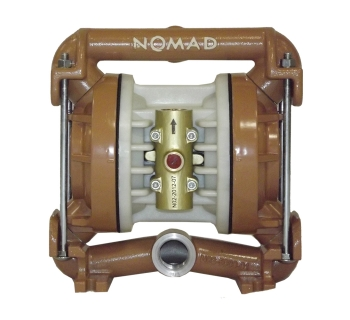 NTG25 (25 mm) Metallic PTFE-Fitted Air Operated Double Diaphragm Pump