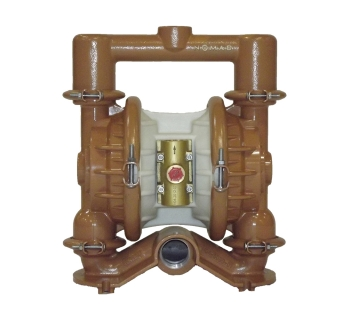 NTG 40 (38 mm) Metallic Rubber/TPE-Fitted Air Operated Double Diaphragm Pump